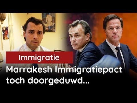 Marrakeshpact wordt doorgeduwd door Kabinet Rutte
