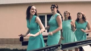 Свадебный песенный клип. Невеста поет песню на свадьбе