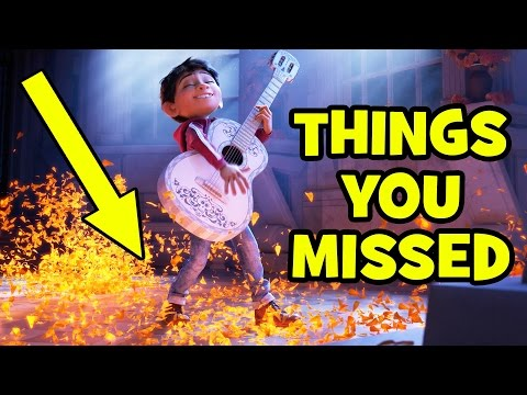 Thumbnail: COCO Trailer BREAKDOWN & Things You Missed - Pixar 2017 Animation