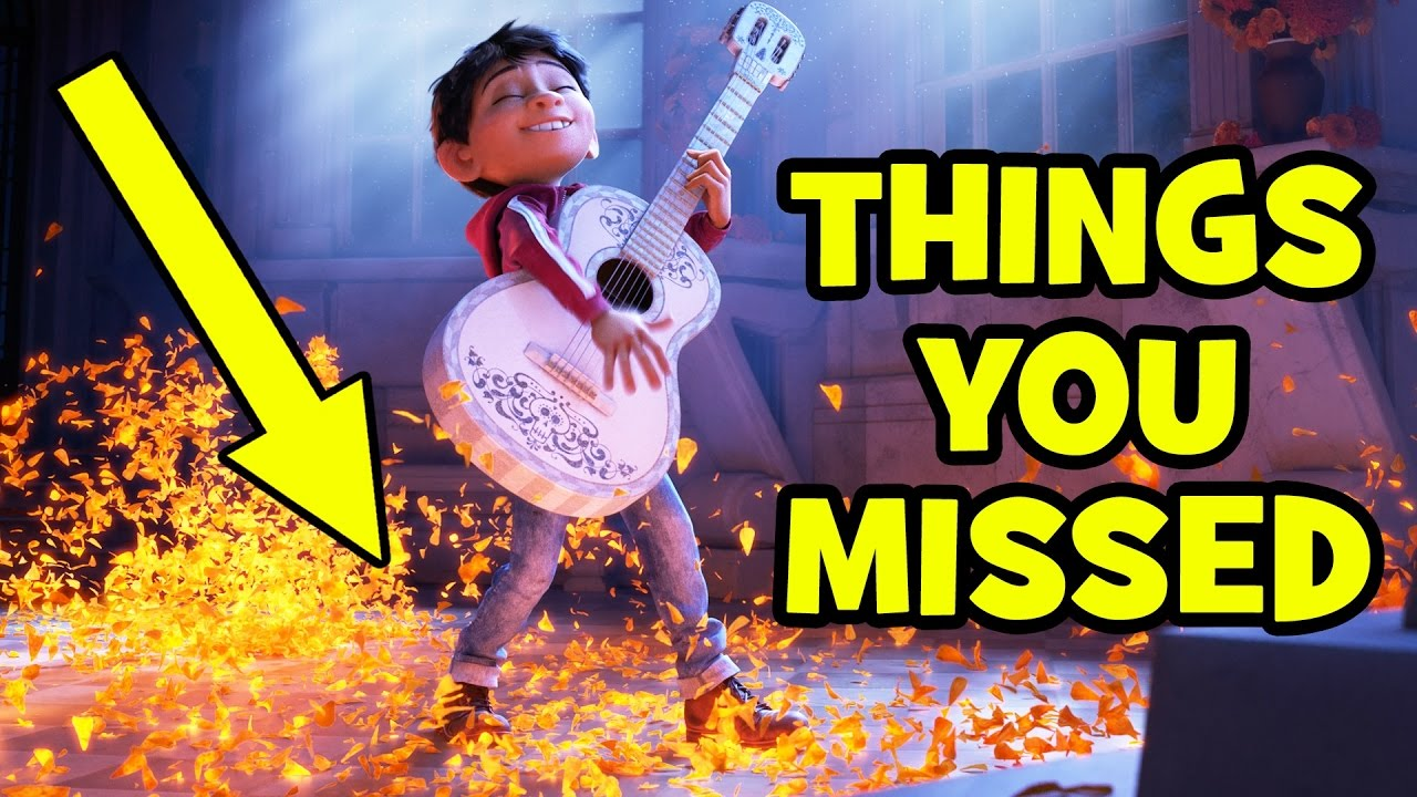 COCO Trailer THINGS YOU MISSED Breakdown