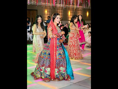 Aisha & Hamza's Mehndi Dance Performances - Pakistani Wedding