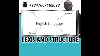 lexis and structure