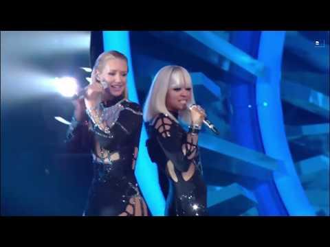 Iggy Azalea-Black Widow (feat.Rita Ora)|LIVE| MTV VMA's 2014|HD