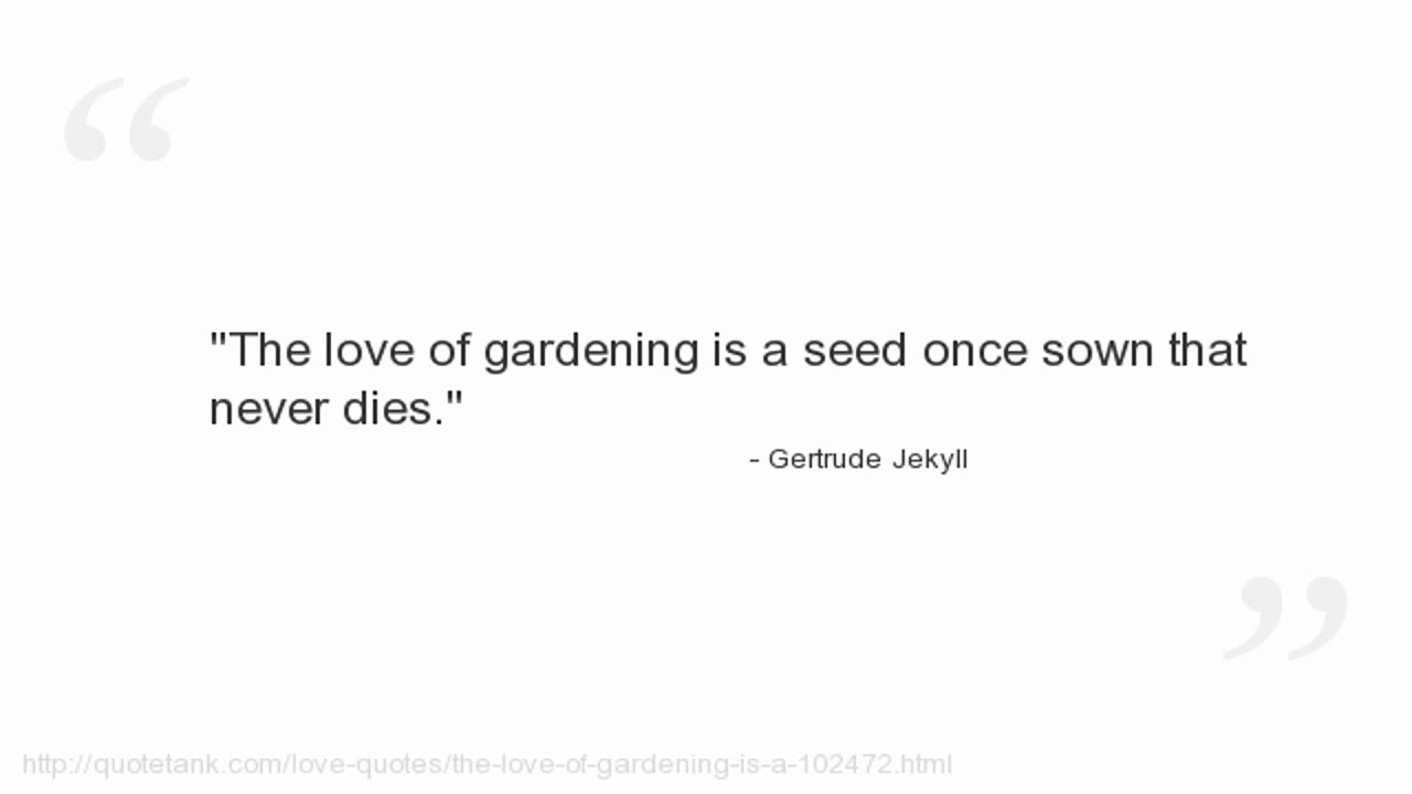 Pisces Quotes Gertrude Jekyll Quotes  Youtube