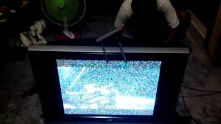 tv antenna w signal amplifier video presentation