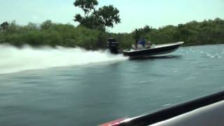 85mph Flats boat at River Ranch Scream n Fly 2011