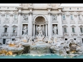 The iconic Trevi Fountain in Rome, Italy