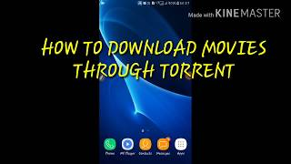 How to download movie through torrent by shadow tech