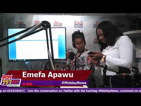 Midday News on Joy FM (8-10-18)