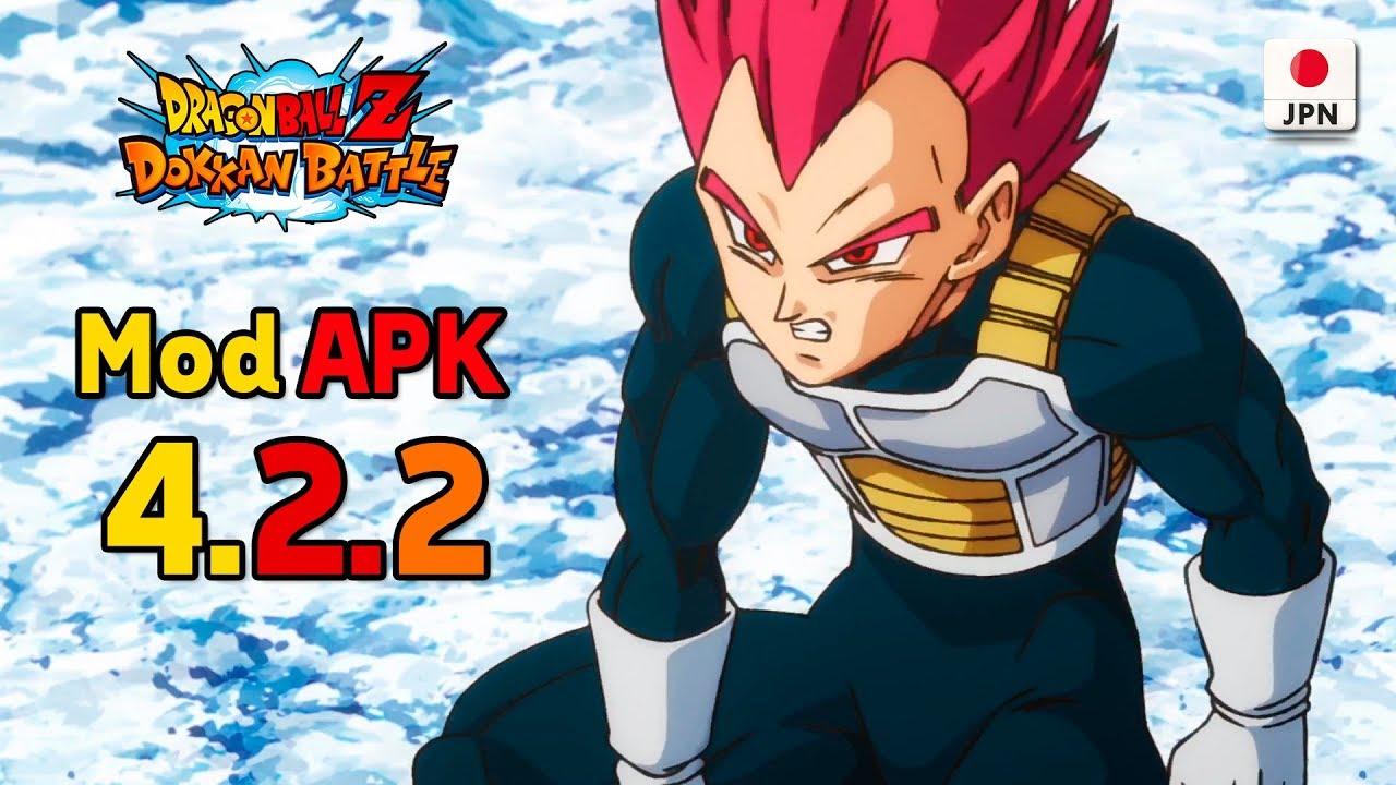 dragon ball dokkan battle jp mod apk 4.2.2