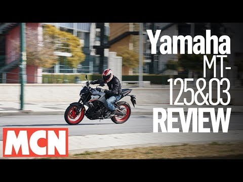 Yamaha MT-125 & MT-03 review | MCN | Motorcyclenews.com