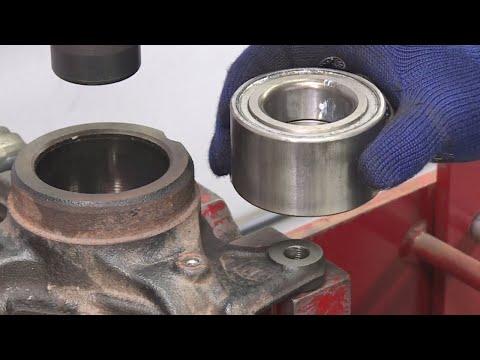 Wheel Bearing Replacement - How To Replace A Wheel Hub Bearing