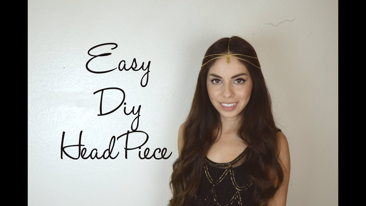 Easy diy head piece youtube solutioingenieria Image collections