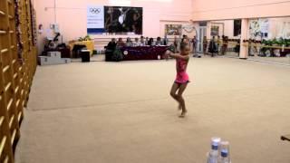 Алина Юшина 8 лет Художественная гимнастика