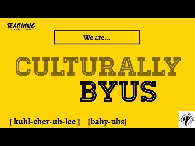 Community Partner Spotlight Interview - Culturally BYUS, LLC