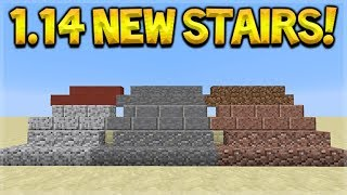 Minecraft 1.14 UPDATE - NEW Stairs & Walls Coming! Andesite, Granite, Diorite Preview
