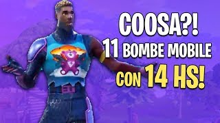 IT LOOKED LIKE AIMBOT! 11 MOBILE BOMBE with 14 HS! Fortnite Mobile
