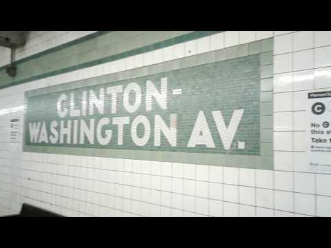 State of the track Clinton-Washington Avenues C train