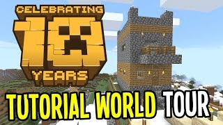 minecraft 10th year anniversary touring minecrafts oldest lp world