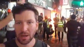 ההפגנות בהונג קונג: אחרי יום אלים במיוחד - תחושת עוצר ברחובות