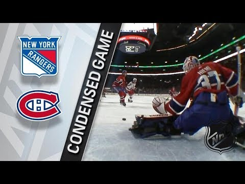New York Rangers vs Montreal Canadiens – Feb. 22, 2018 | Game Highlights | NHL 2017/18. Обзор