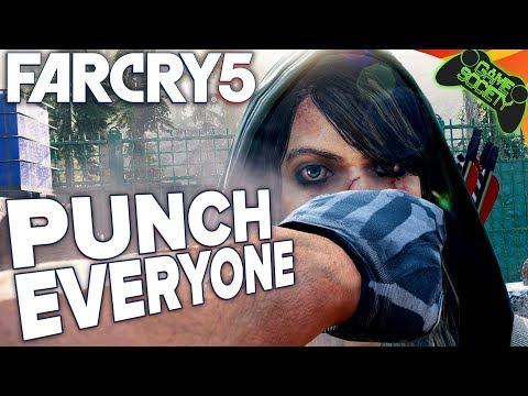 Far Cry 5 Punch Everyone