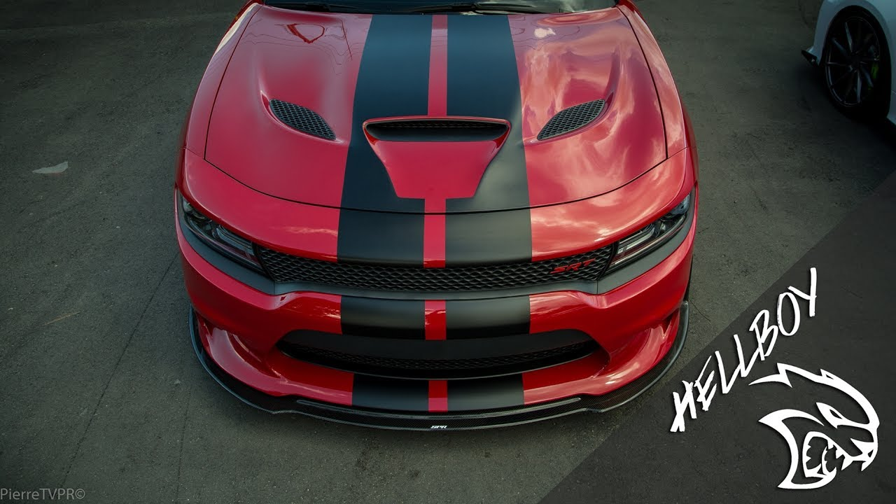 "2017 Dodge Charger >> Dodge Charger Hellcat SRT ""Hellboy Project"" - YouTube"