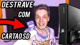 DESBLOQUEANDO SEU XBOX 360 COM UM CARTÃO SD 😱😱 ??