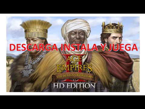 Age of Empires II HD: The African Kingdoms INSTALACION