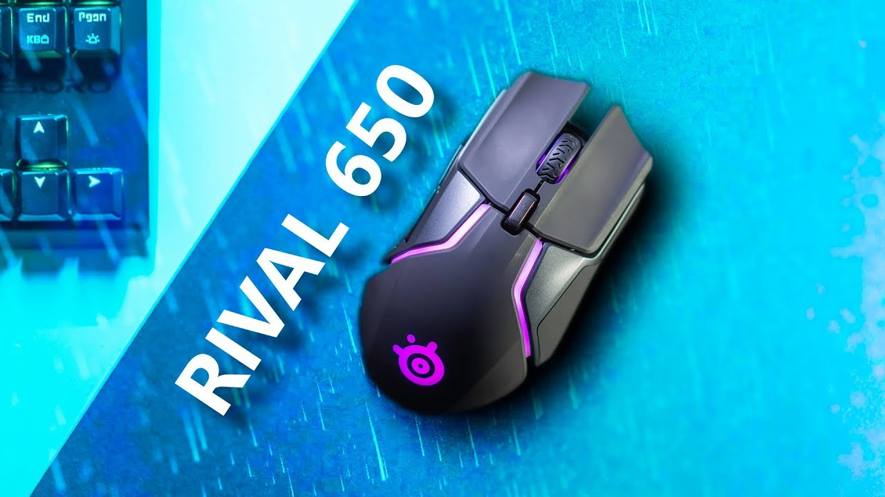 SteelSeries Rival 650 - The Heavyweight Wireless Mouse!