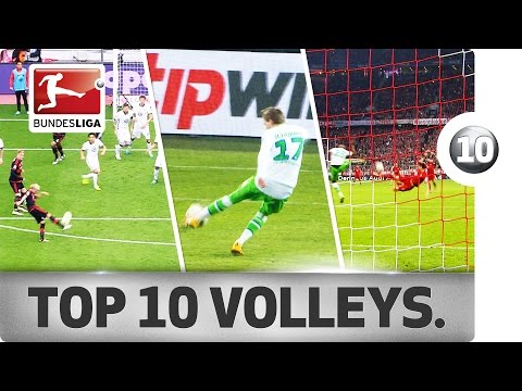 Top 10 - Best Volleys from the 2015/16 Season