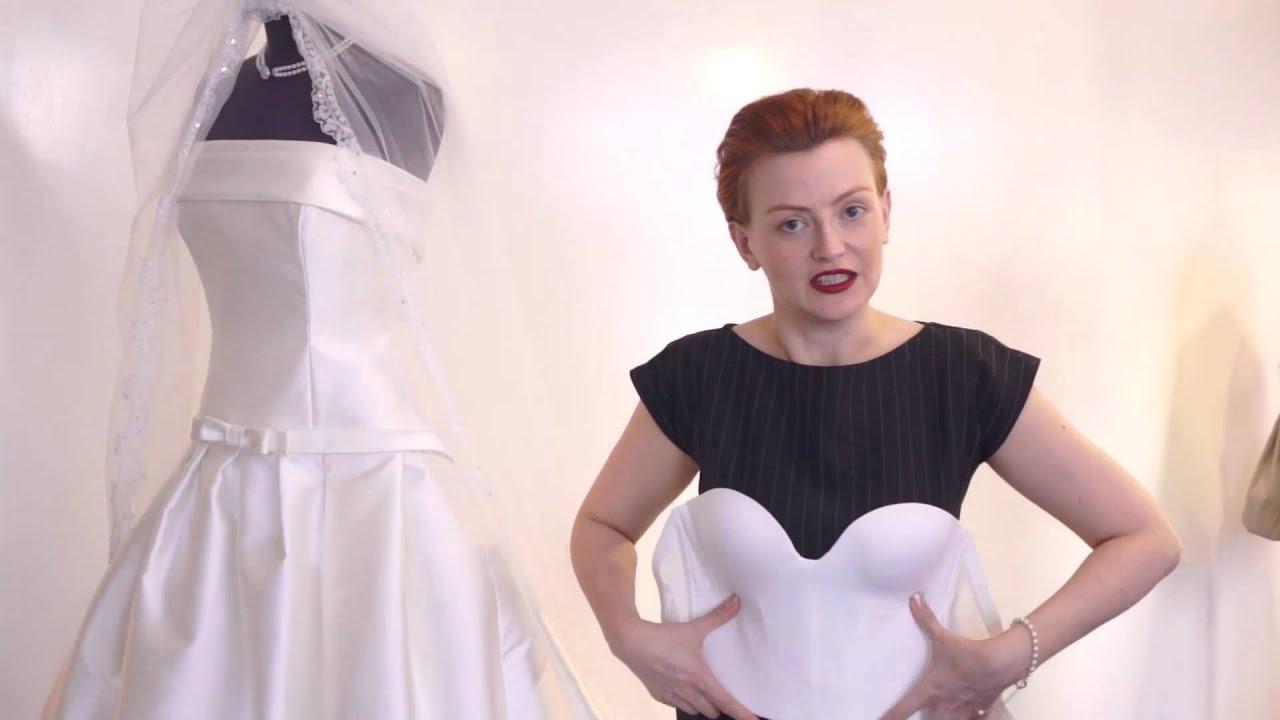 Wat voor BH draag je onder je trouwjurk?