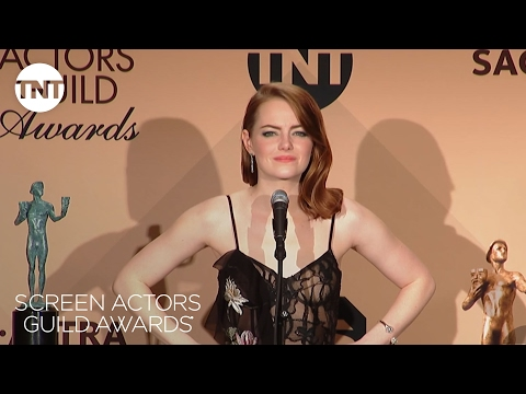 Emma Stone: Press Room Q&A | 23rd Annual SAG Awards | TNT