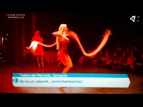 Cabaret Shanghai en Aragón en Abierto 2016