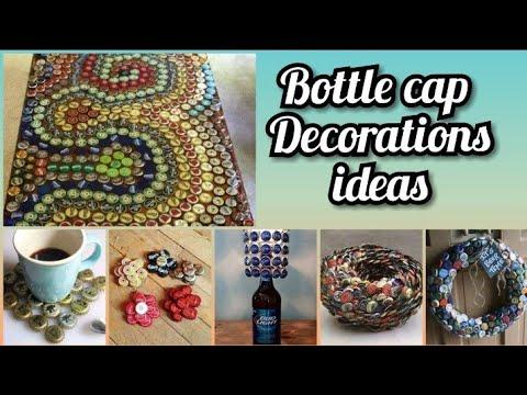 Soda bottle lid recycling ideas   waste metal bottle cap carft  