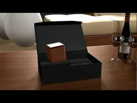 An Amazing Jewelry Box for Diamond Ring