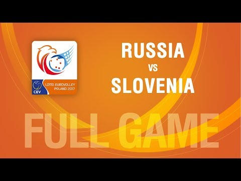 Russia vs Slovenia | QUARTERFINALS | LOTTO EUROVOLLEY POLAND 2017