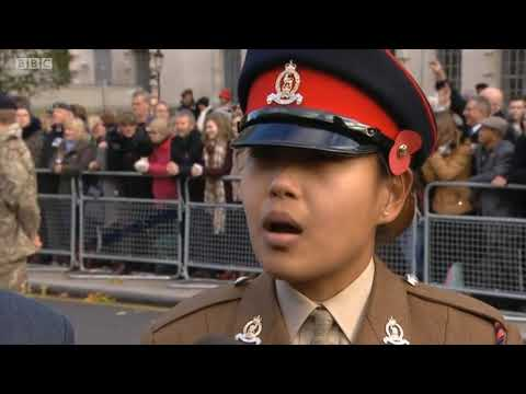 2017 UK Remembrance Sunday London BBC Complete