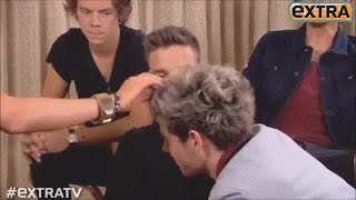 Glances, unspoken words and body language - Narry