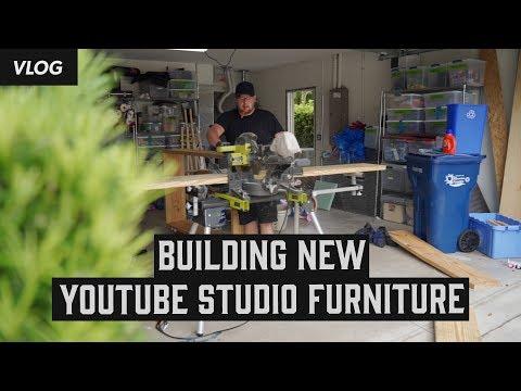 Building New Youtube Studio Furniture