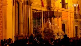 Recogida Virgen del Patrocinio (Prendimiento) (Iglesia del Carmen) (Semana Santa Cádiz 2012)