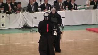 KENDO 高鍋進 × 岩下智久 (準決勝) 全日本剣道2011-1103