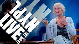 Shakespeare s like riding a stallion: Helen Mirren | LIVE from the NYPL