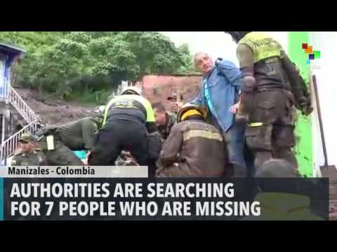 At least 17 Killed in Colombia Landslide