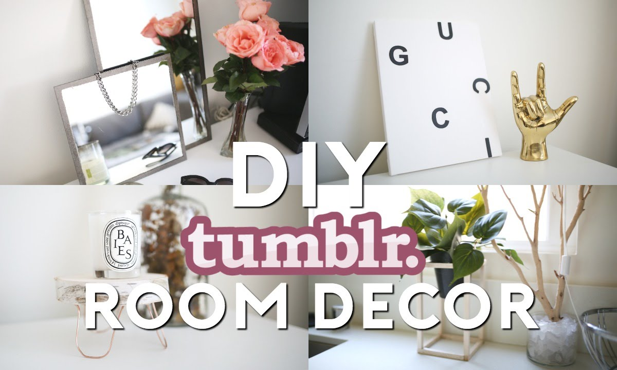 diy tumblr room decor minimal easy youtube - Minimal Room Decor