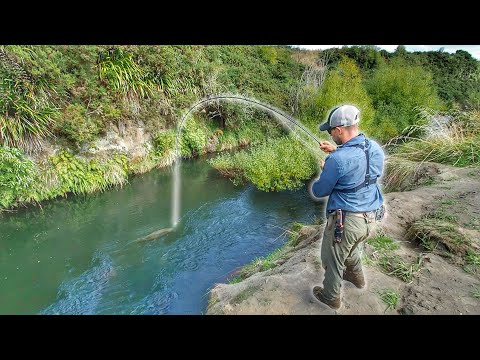 fishing-tiny-creek-and-catching-huge-trout