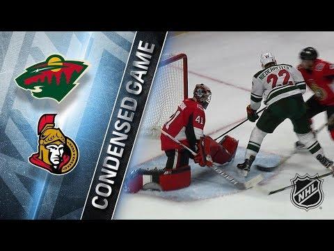 Minnesota Wild vs Ottawa Senators December 19, 2017 HIGHLIGHTS HD
