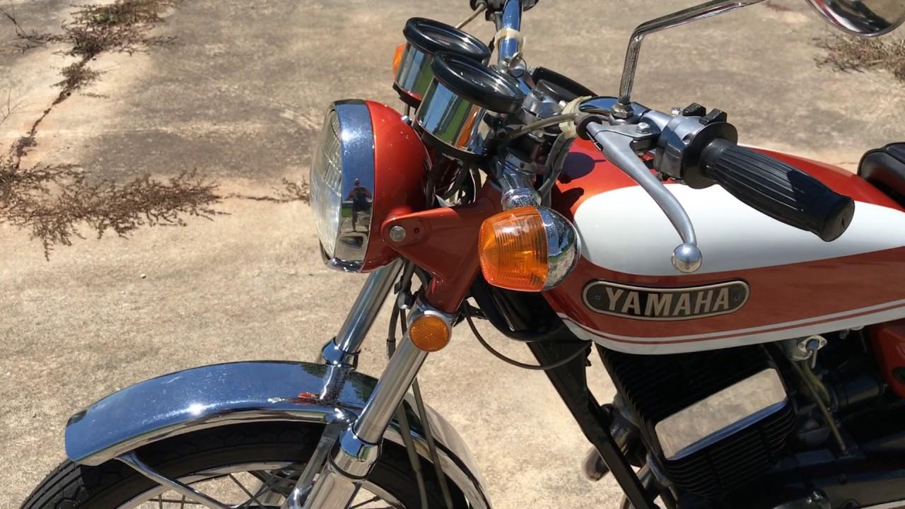 1972 yamaha r5 350 [ 1280 x 720 Pixel ]