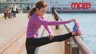 【More Fitness】雨僑( 一) 跑步前2招拉筋熱身