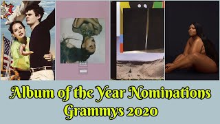 ALBUM of the Year Nominations | 62nd Annual Grammy Awards (2020 #Grammys)